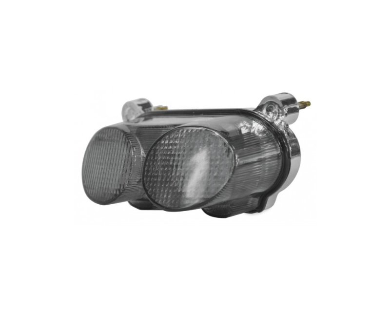 Bikemaster Integrated Motorcycle Tail Light Smoked ZX6   7   9R