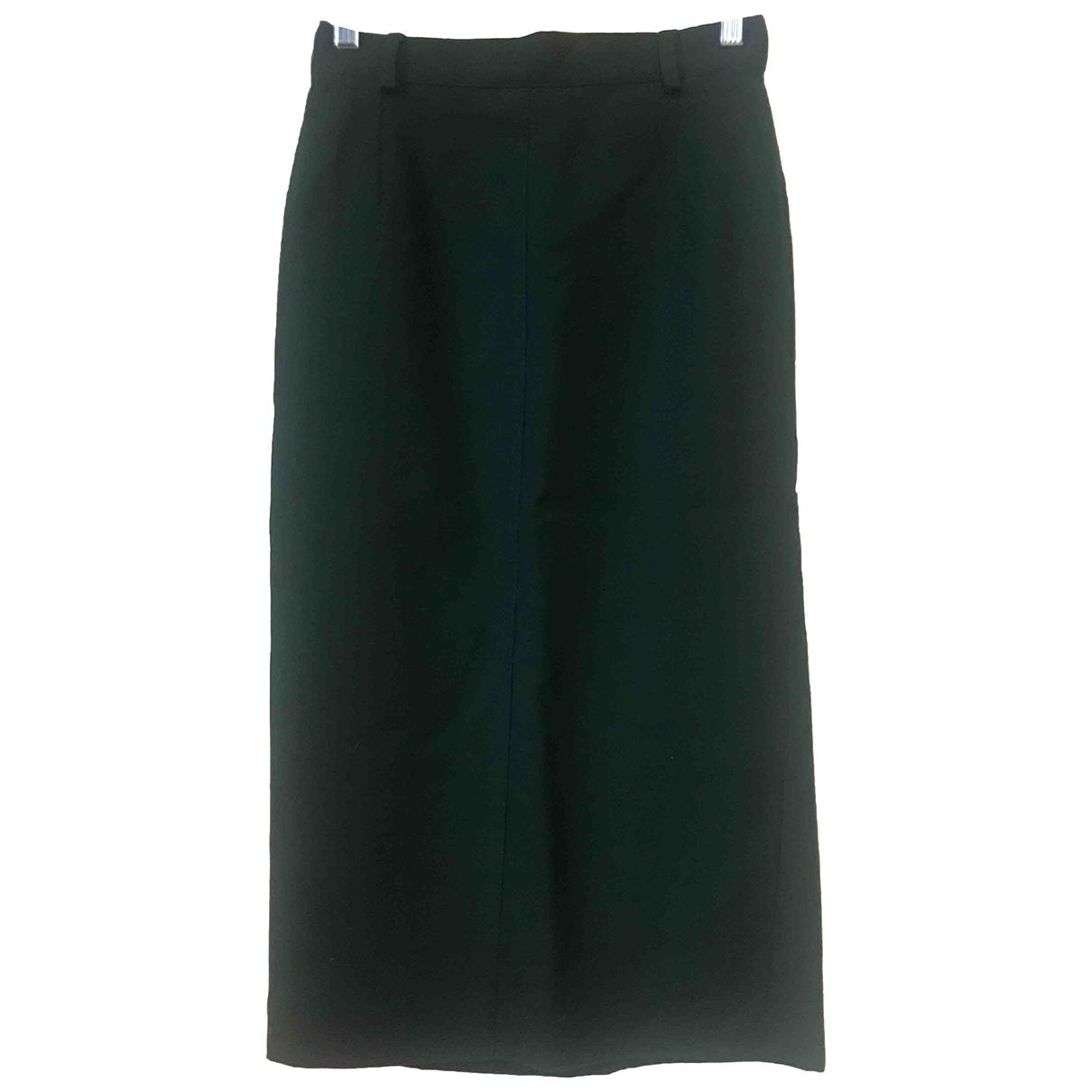 Non Signé / Unsigned \N Green Wool skirt for Women 40 IT