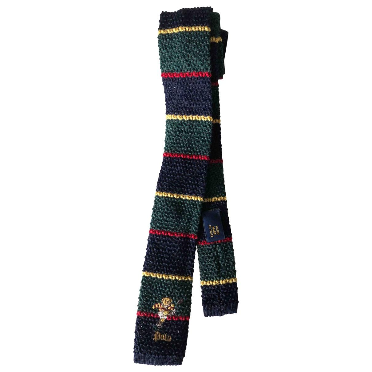 Corbata de Lana Polo Ralph Lauren