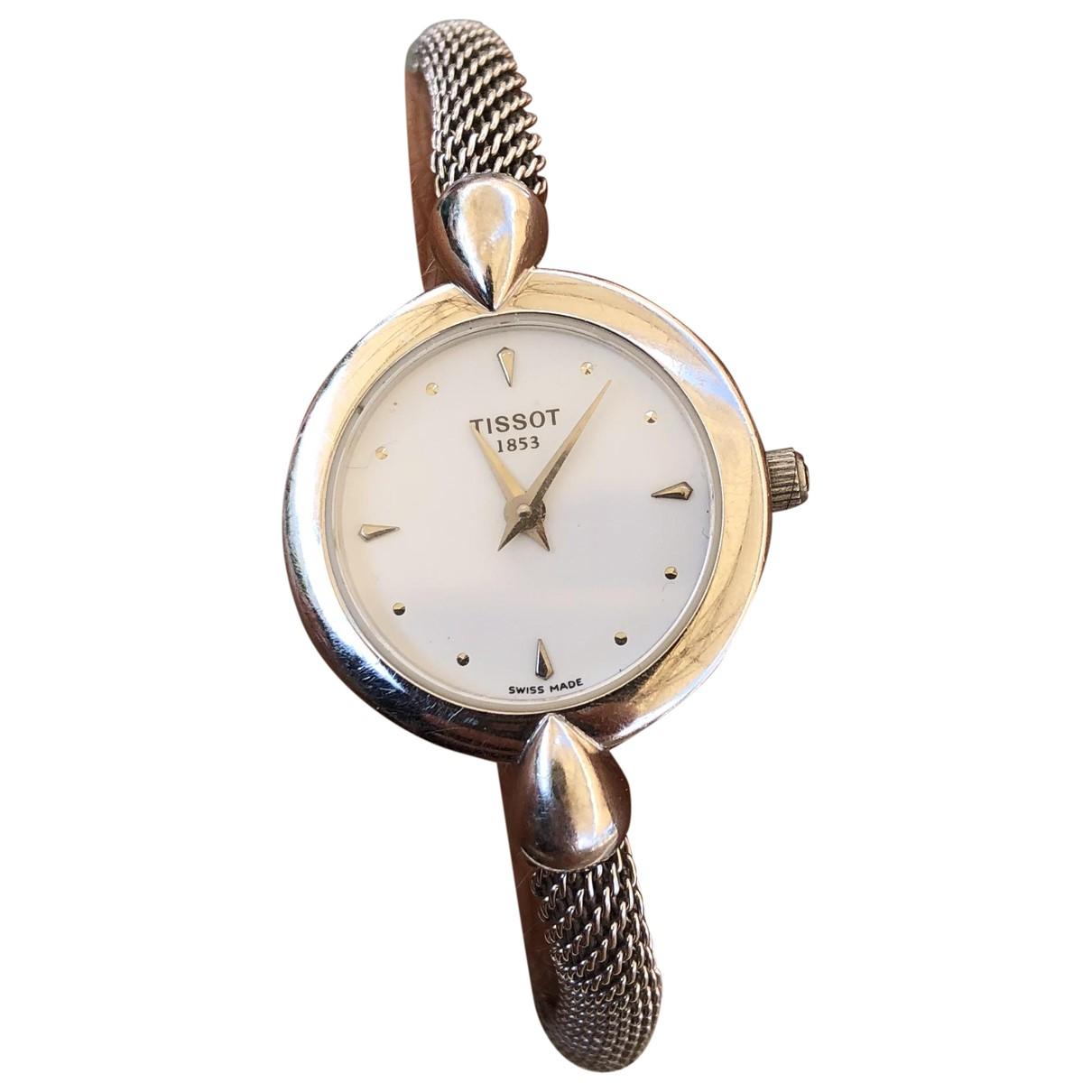Tissot \N Uhr in  Silber Weissgold