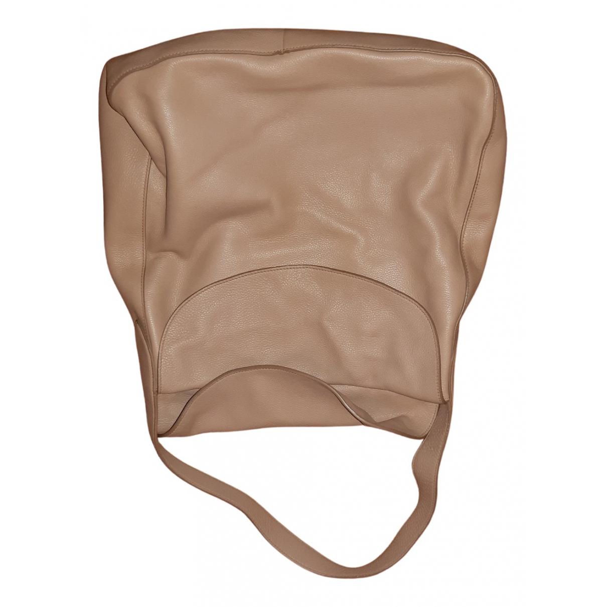 Prada \N Handtasche in  Kamel Leder