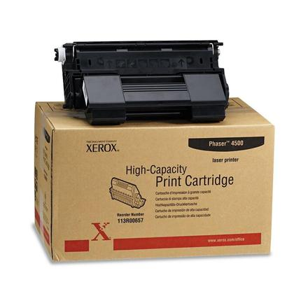 Xerox 113R00657 Original Black Toner Cartridge High Yield