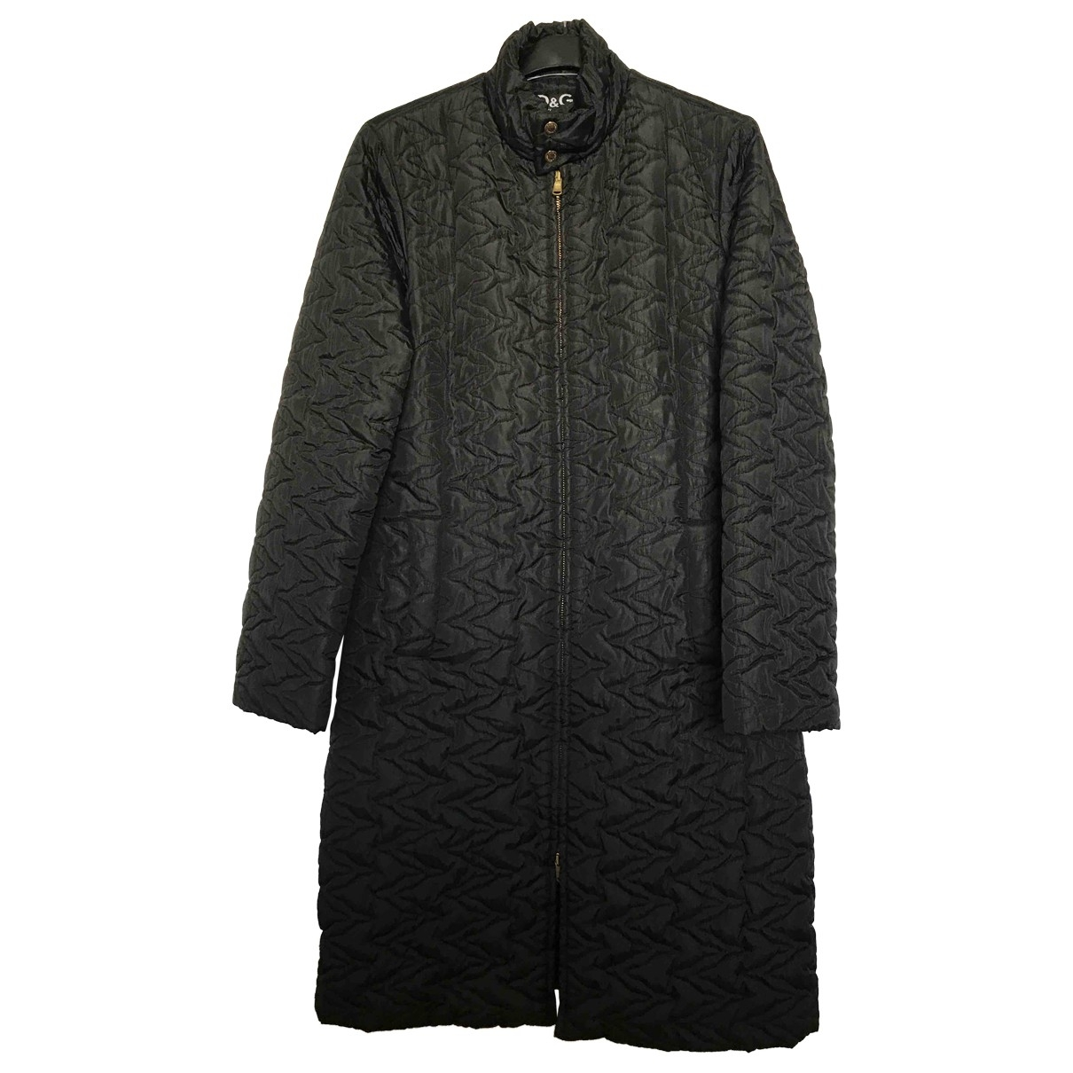 D&g \N Trench in  Schwarz Synthetik