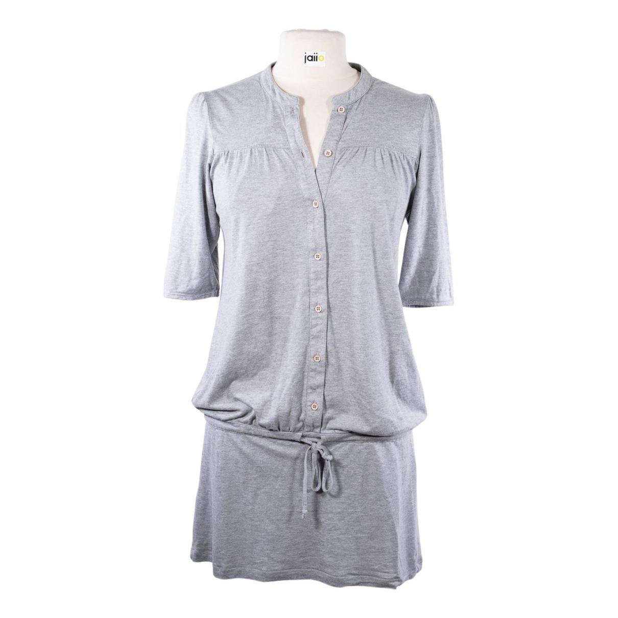 Sessun N Grey Cotton dress for Women 36 FR