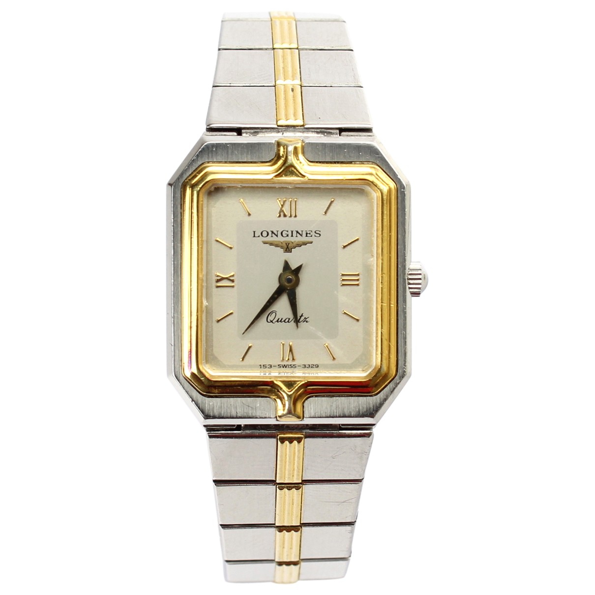 Longines Flagship Silver Gold plated watch for Women \N