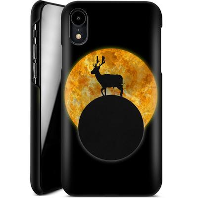 Apple iPhone XR Smartphone Huelle - Deer on the Moon von Barruf