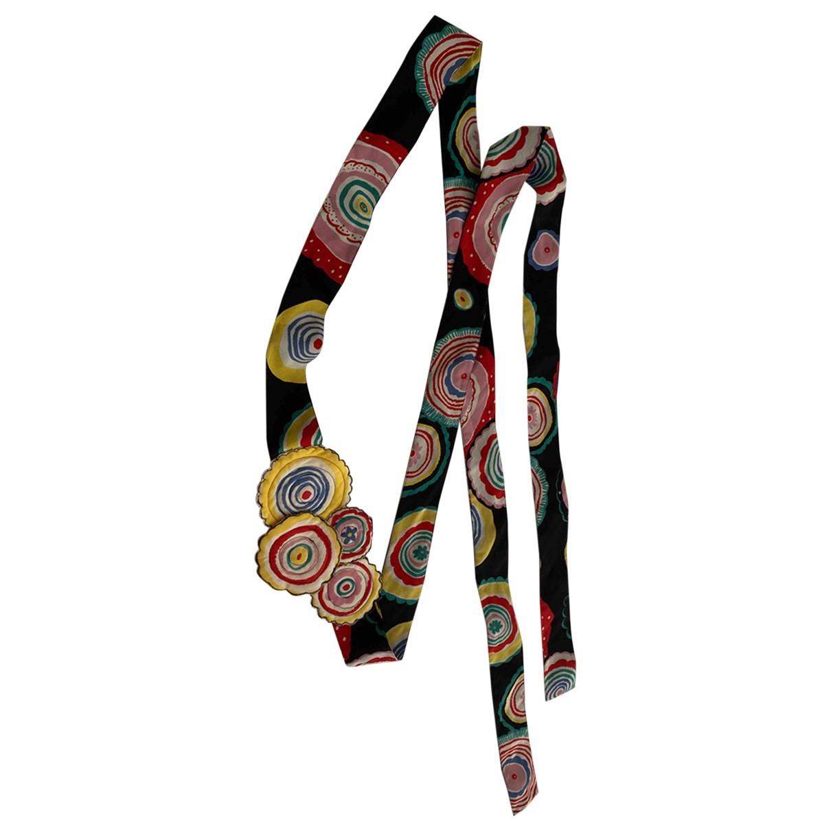 Cacharel - Ceinture   pour femme en soie - noir