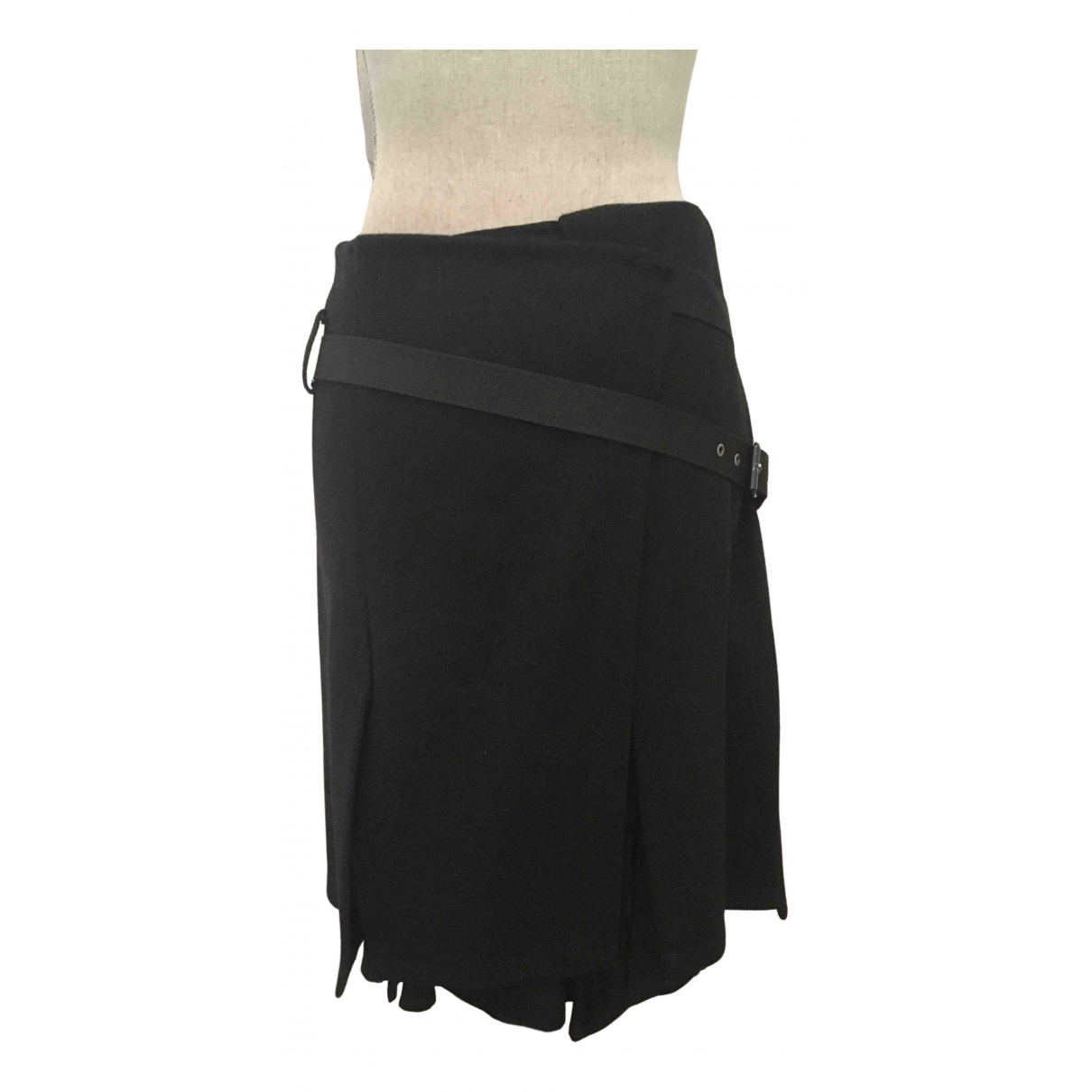 Comptoir Des Cotonniers - Jupe   pour femme en laine - noir