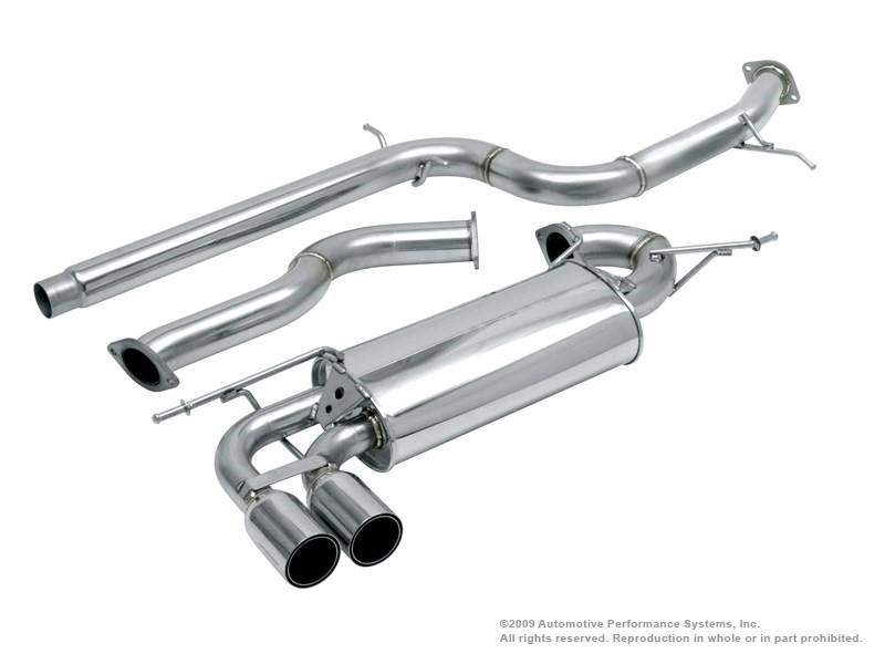 Neuspeed 30.10.99 Stainless Steel Catback Exhaust System VW Rabbit Golf 6 07-14