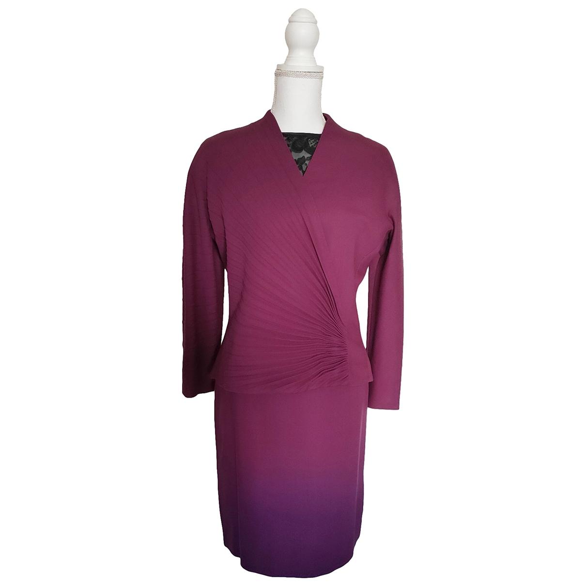 Gianni Versace \N Kleid in Wolle