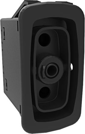 Carling Technologies Double Pole Single Throw (DPST), (On)-None-Off Rocker Switch Panel Mount