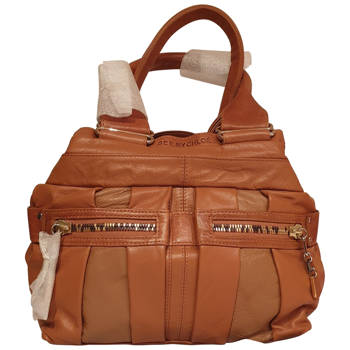 See By Chloé \N Camel Leather handbag for Women \N