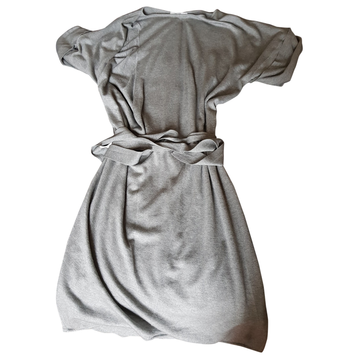 Max Mara \N Kleid in  Grau Kaschmir