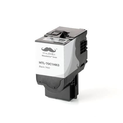Compatible Lexmark 70C1HK0 Black Toner Cartridge High Yield - Moustache@