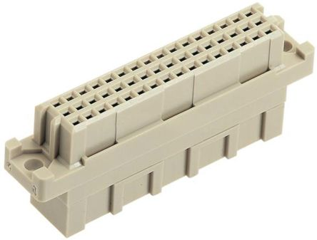 HARTING , DIN 41612 48 Way 2.54mm Pitch, Type 2R, 3 Row, Straight DIN 41612 Connector, Socket