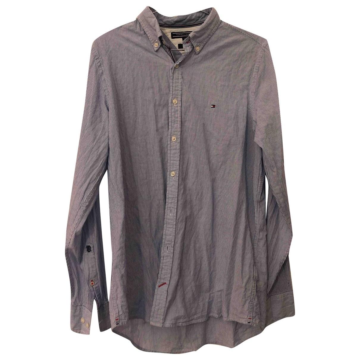 Tommy Hilfiger \N Hemden in  Schwarz Baumwolle