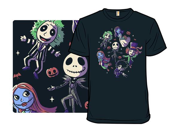 A Very Burton Halloween T Shirt