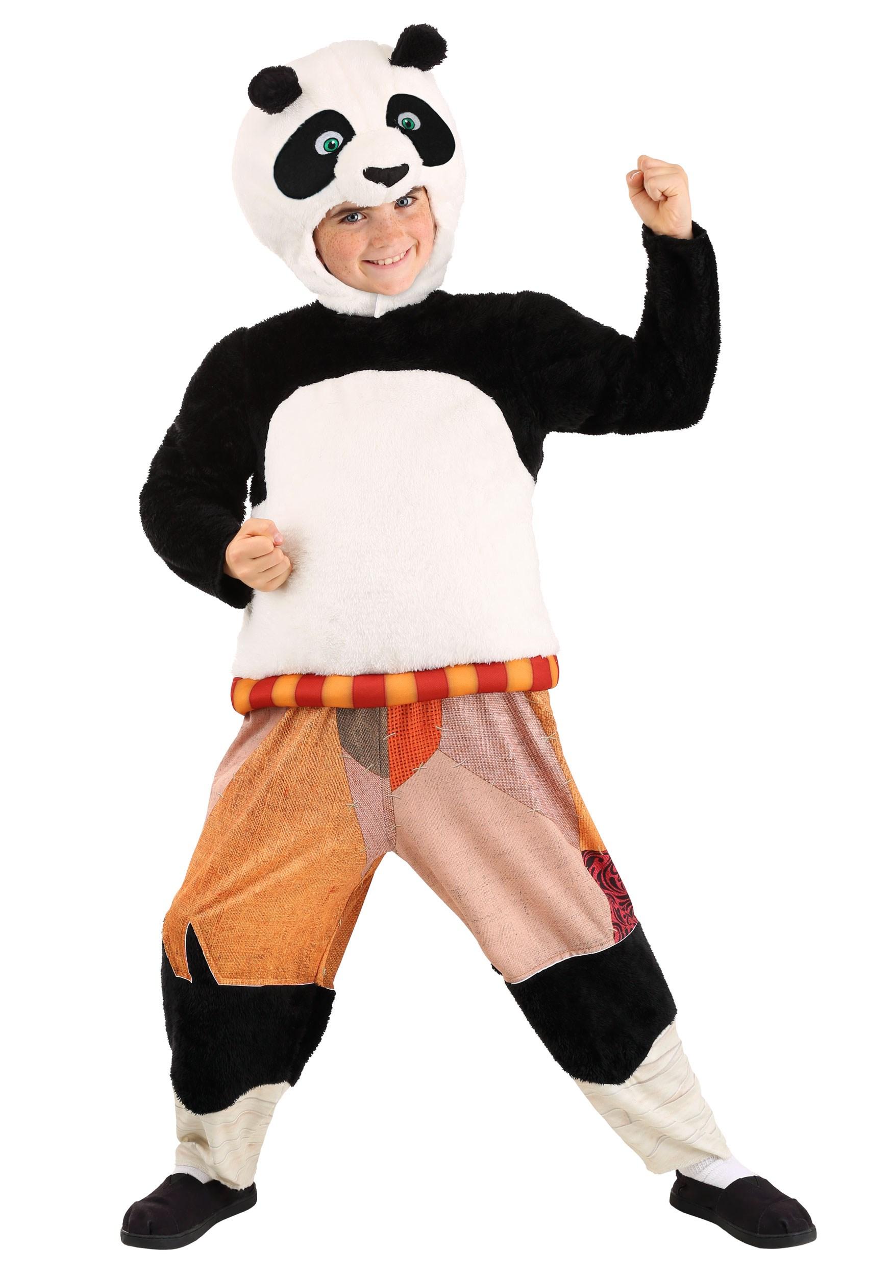 Child Kung Fu Panda Po Costume