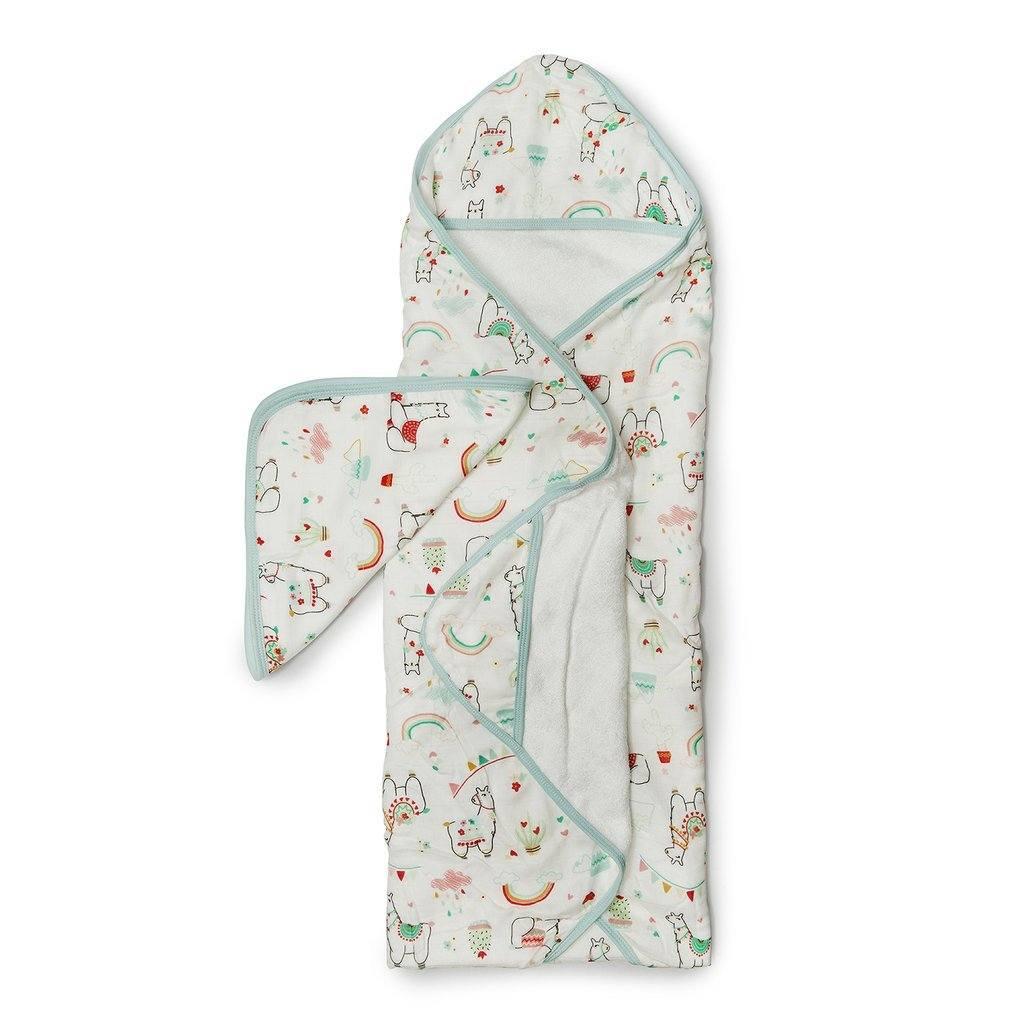 Hooded Towel Set - Llama