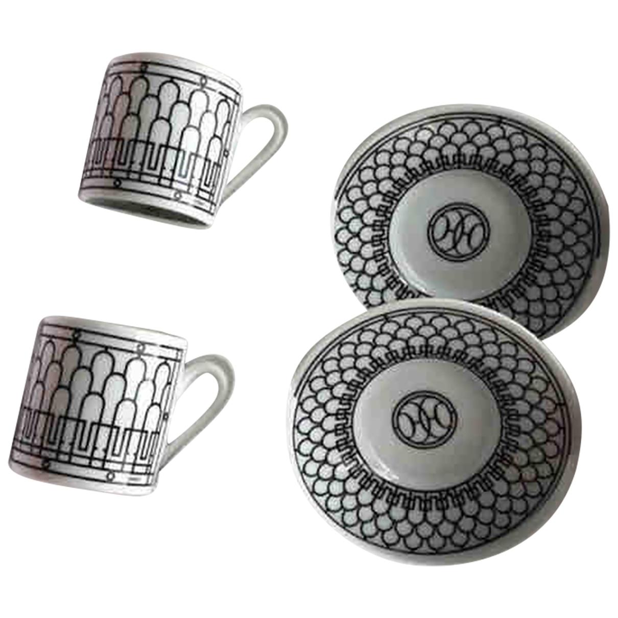 Hermes - Arts de la table H Deco pour lifestyle en porcelaine - noir