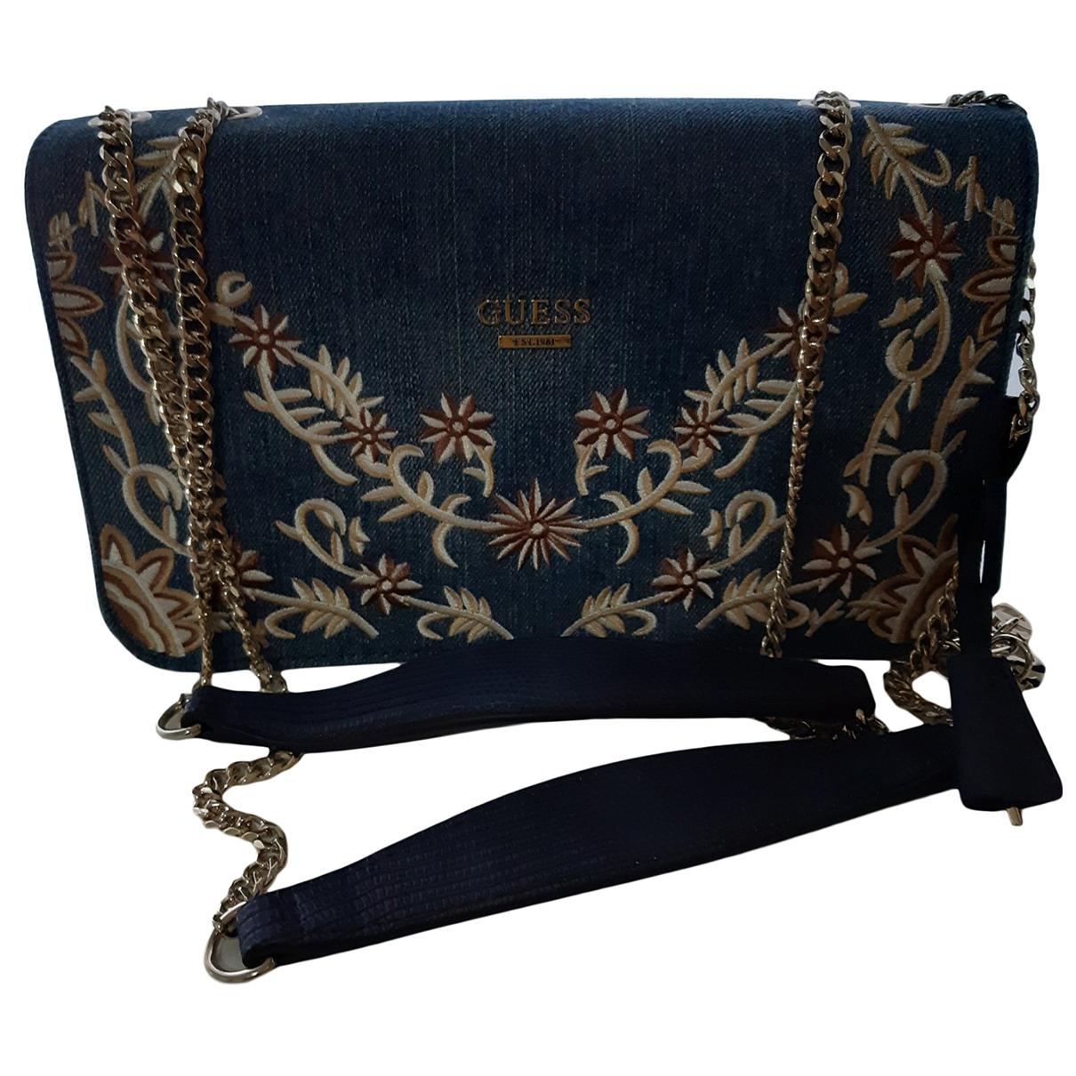 Guess \N Blue Denim - Jeans handbag for Women \N