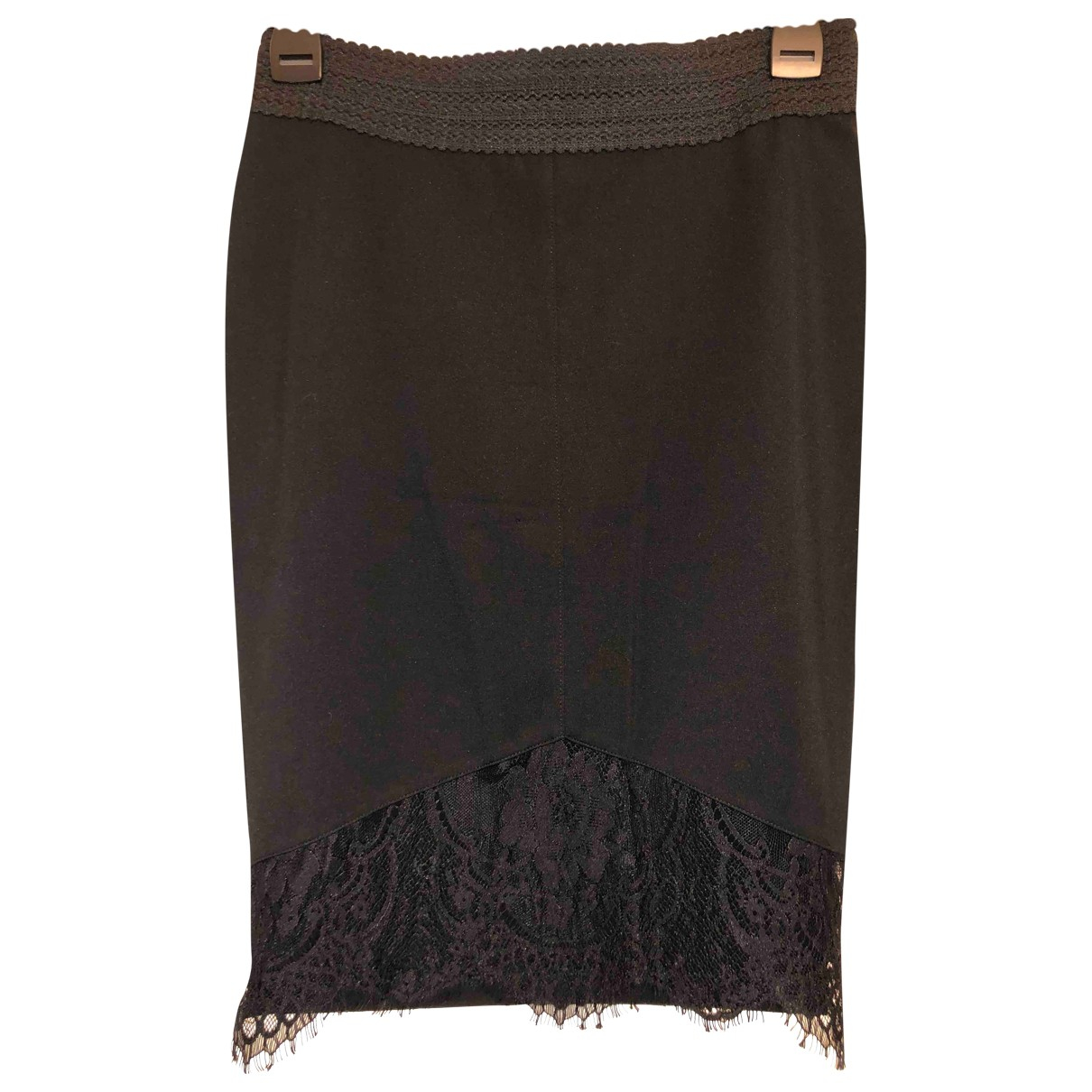 Guess N Black Cotton - elasthane skirt for Women M International