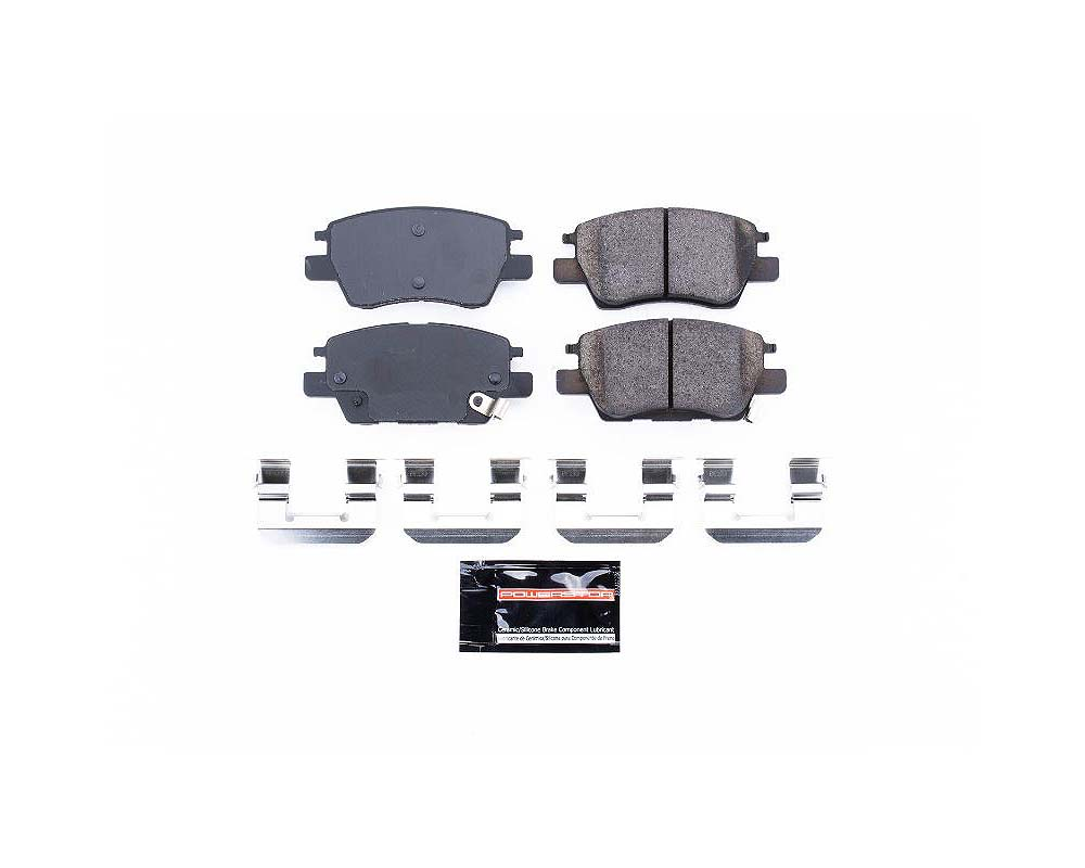 Power Stop Z23-1844 Z23 Evolution Sport Brake Pads w/Hardware Front Chevrolet Bolt EV 2017-2019