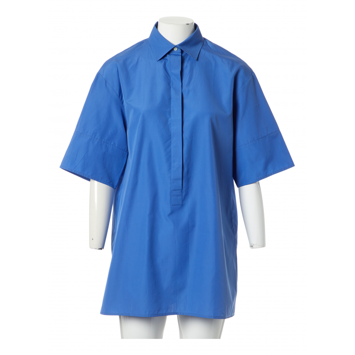 Valentino Garavani N Blue Cotton  top for Women 42 IT
