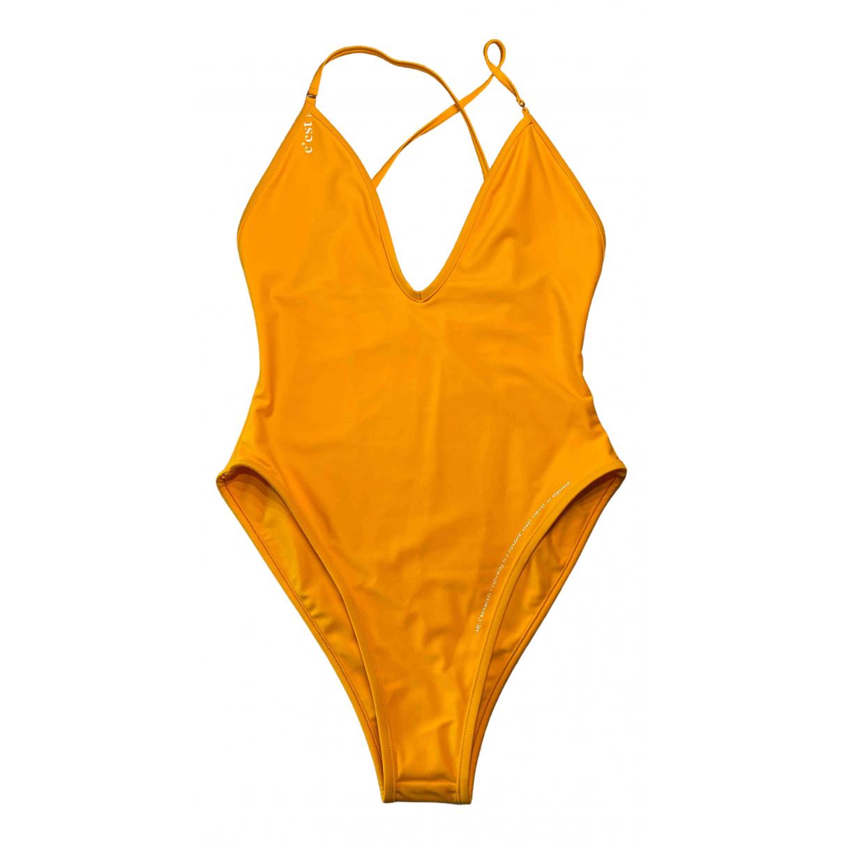 - Bain   pour femme - orange