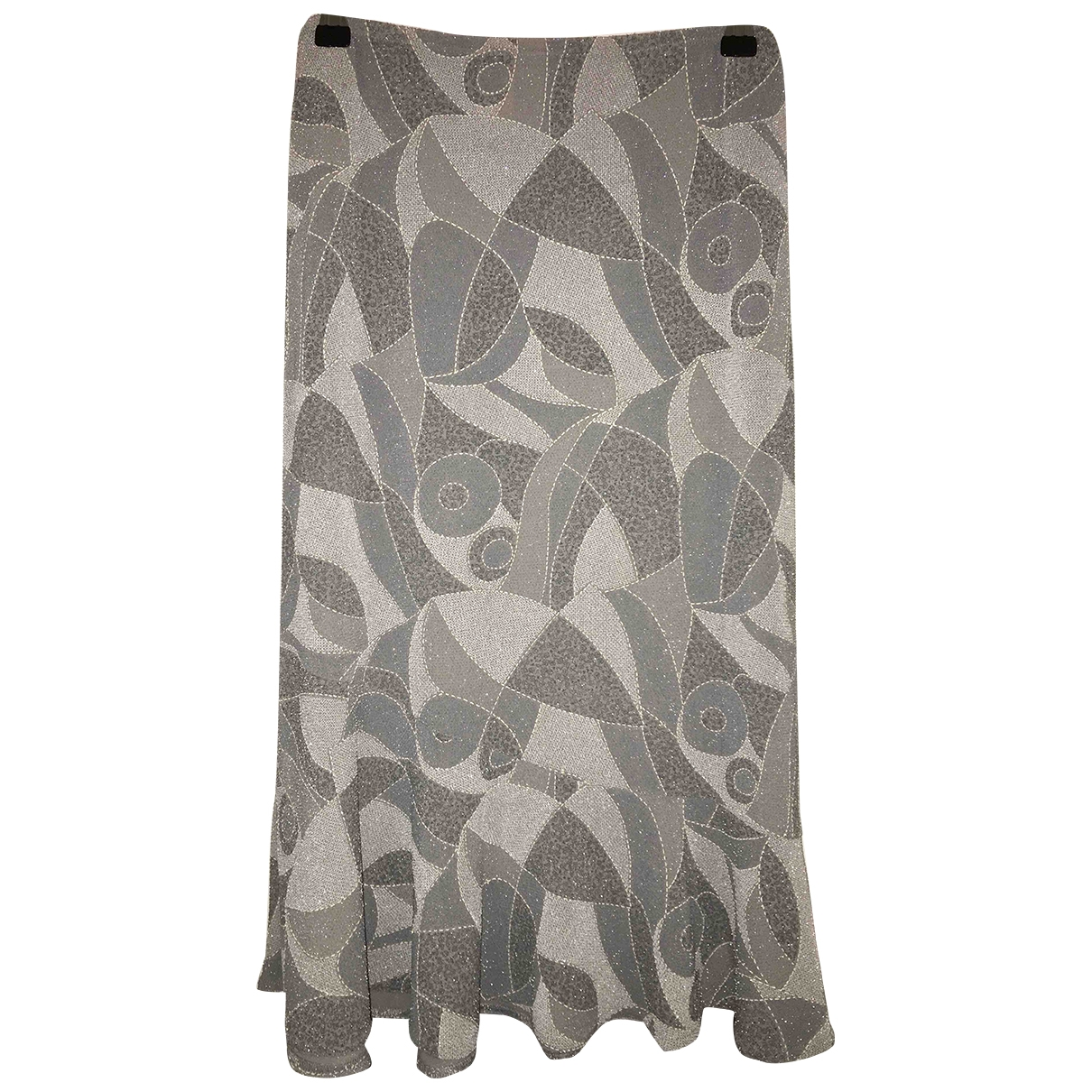 Non Signe / Unsigned \N Rocke in  Silber Polyester