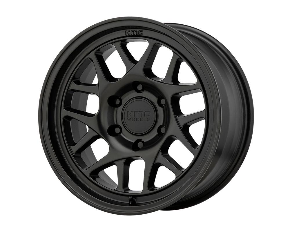 KMC KM717 Wheel 17x8.5 6x6x135 +18mm Satin Black