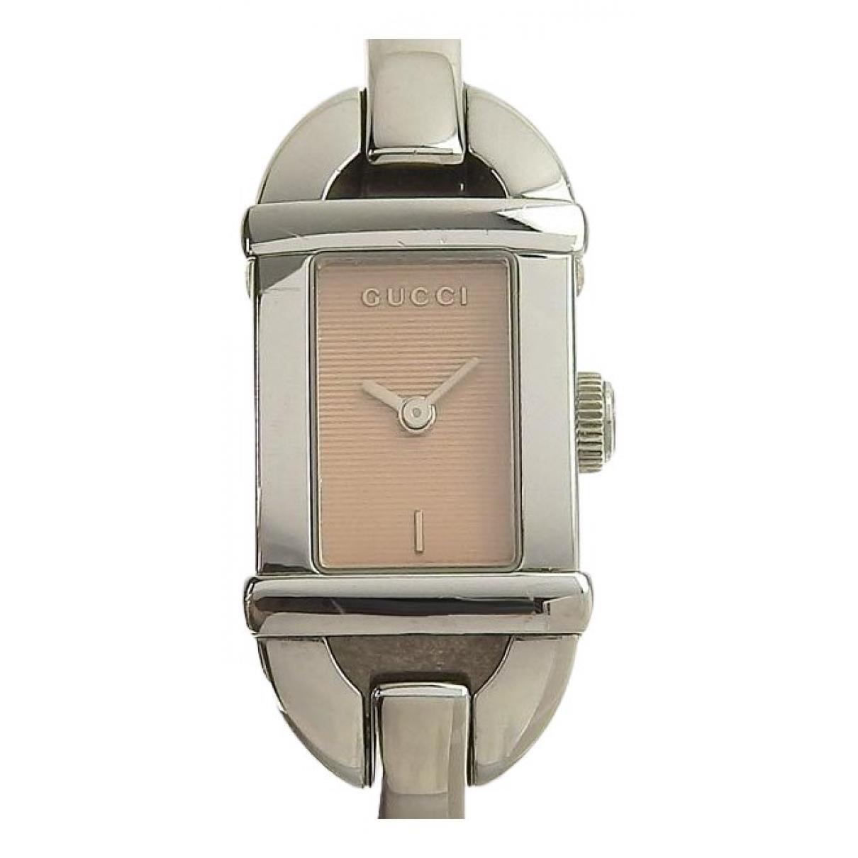 Gucci \N Black Steel watch for Women \N