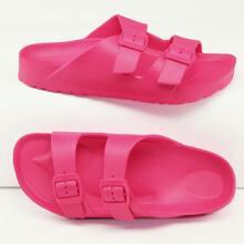 Heisses Pink Einfarbig Pantoffeln