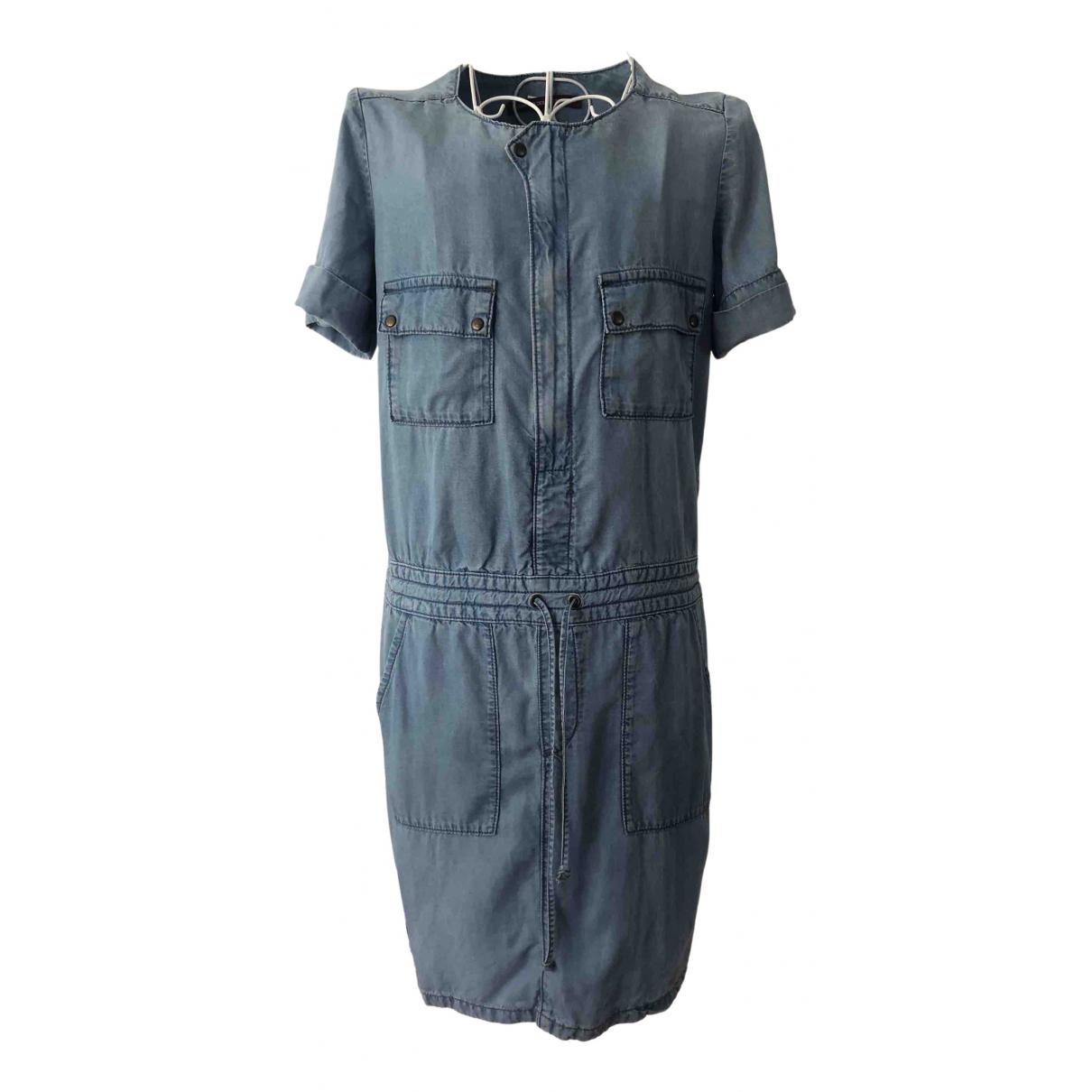 Comptoir Des Cotonniers \N Kleid in  Blau Baumwolle