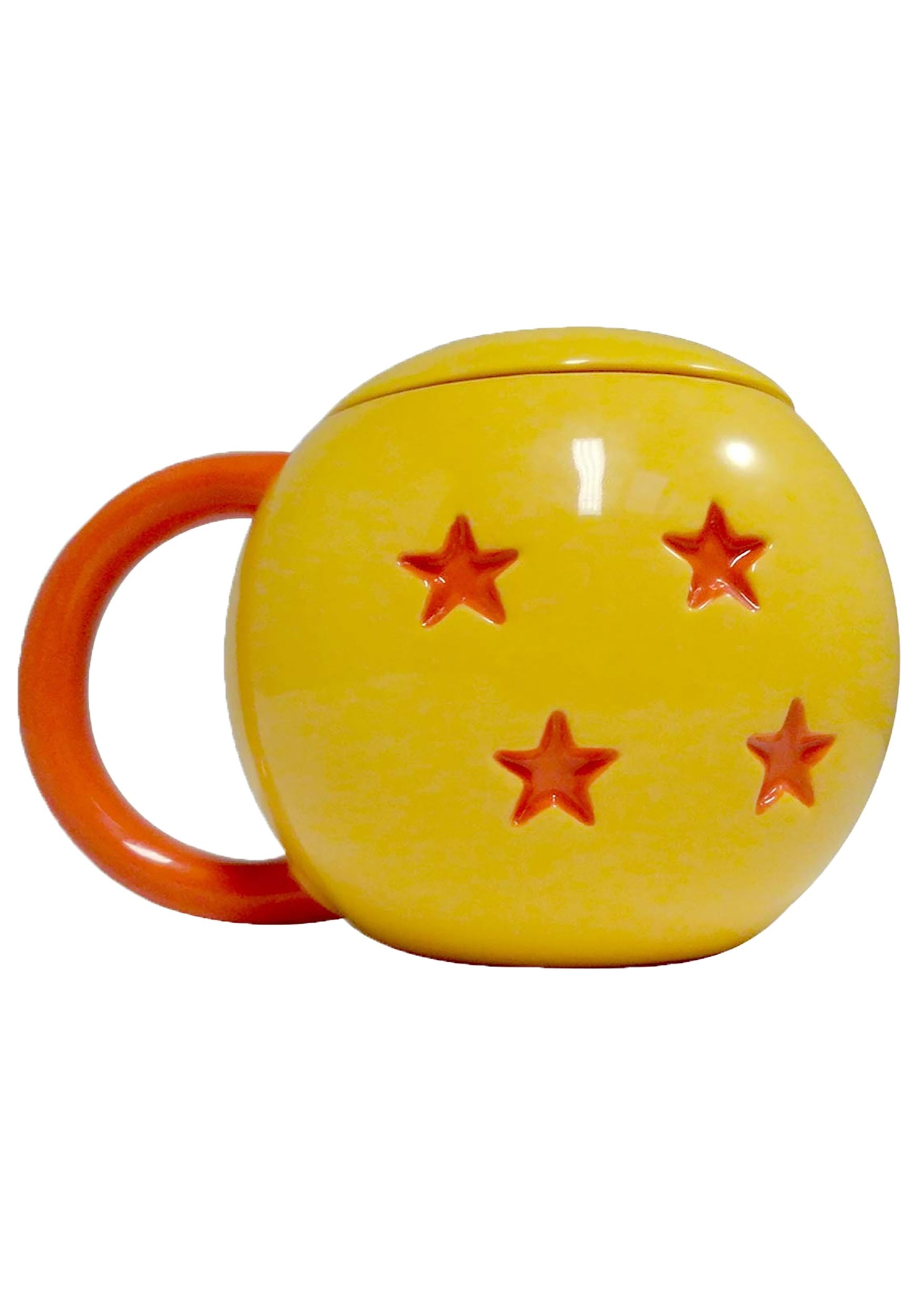 Clever Dragon Ball 4 Star Mug w/ Lid