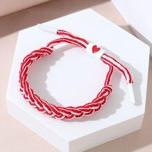 Striped Braided Bracelet