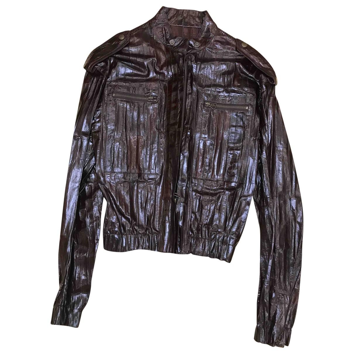 Lanvin \N Burgundy Eel jacket for Women 40 FR
