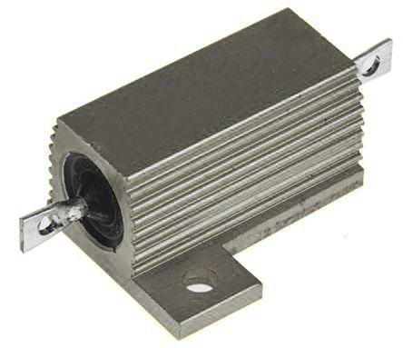 RS PRO Aluminium Housed Aluminium Power Resistor, 100mΩ ±5% 75W