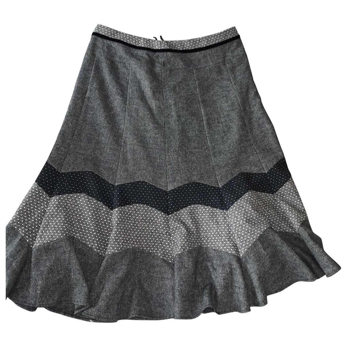 Max Mara Weekend \N Grey Wool skirt for Women 14 UK