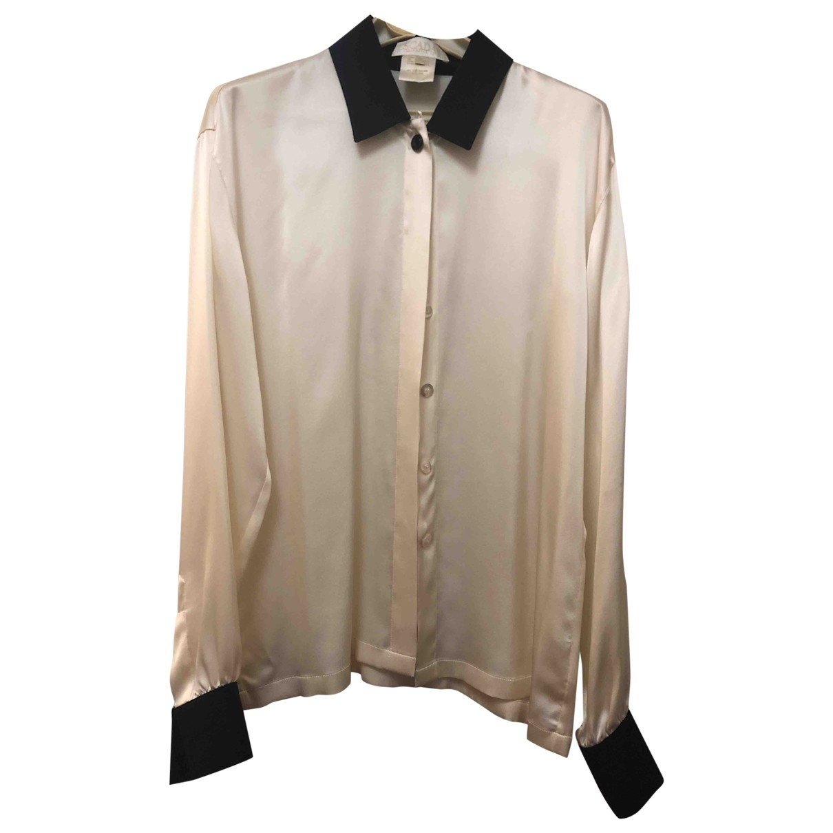 Escada \N Top in  Beige Seide