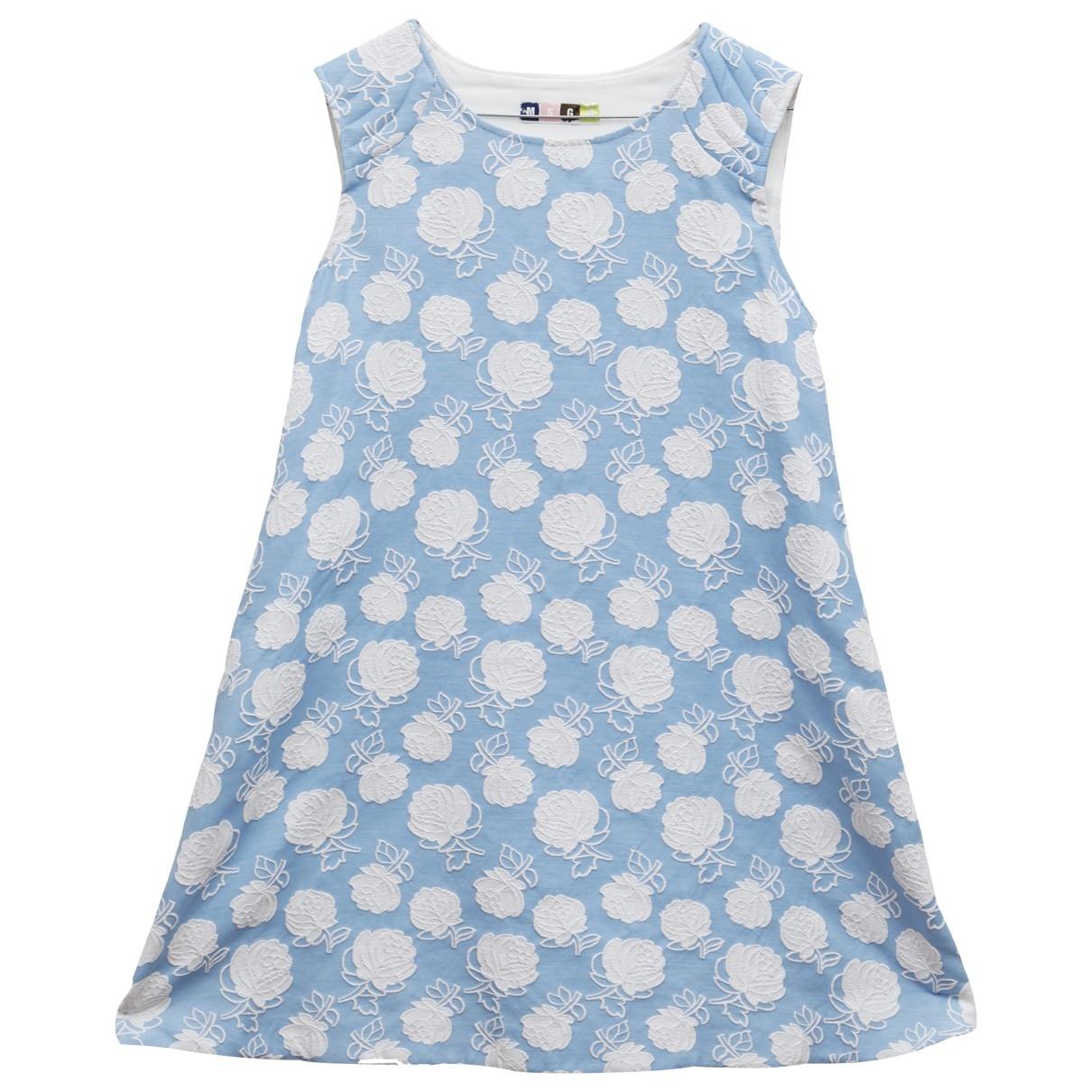 Msgm \N Blue Cotton dress for Women 40 IT