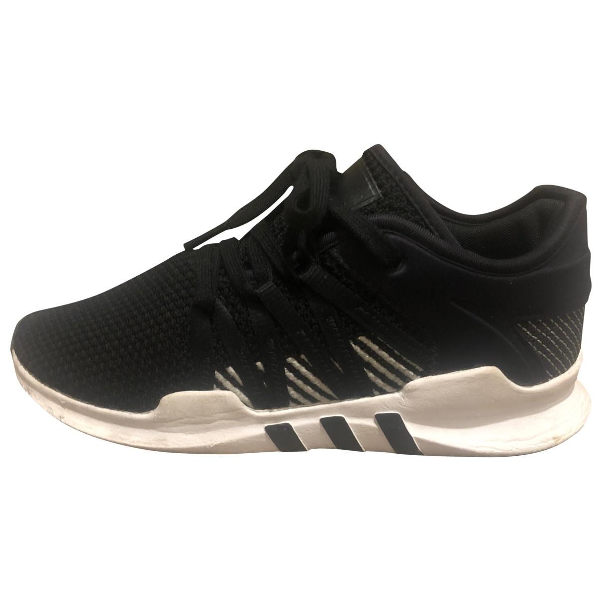 Adidas - Baskets EQT Support pour femme en toile - noir