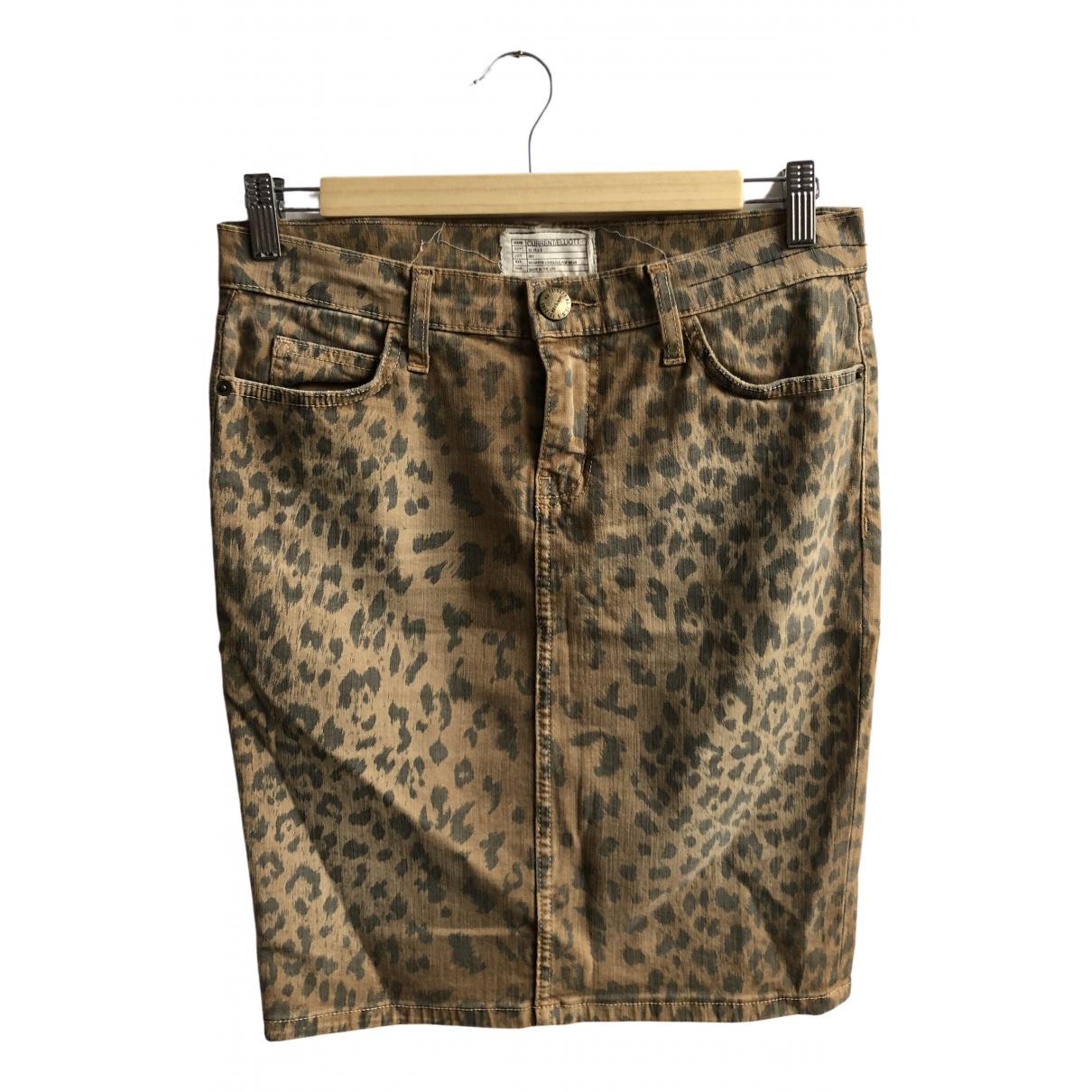 Current Elliott \N Rocke in  Kamel Denim - Jeans