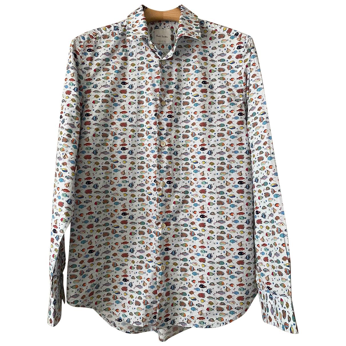 Paul Smith \N Hemden in  Blau Baumwolle