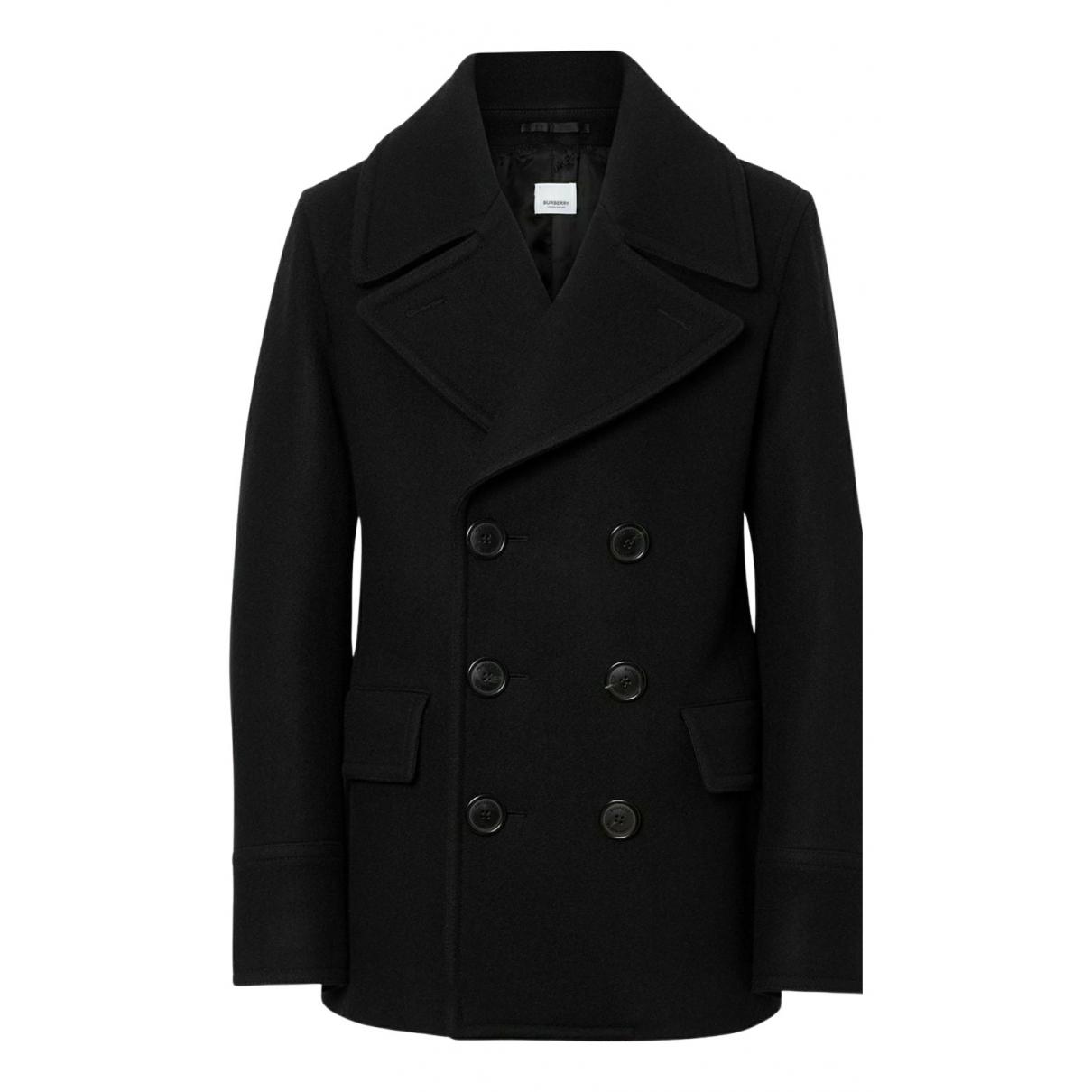 Burberry N Black Wool coat  for Men 50 IT