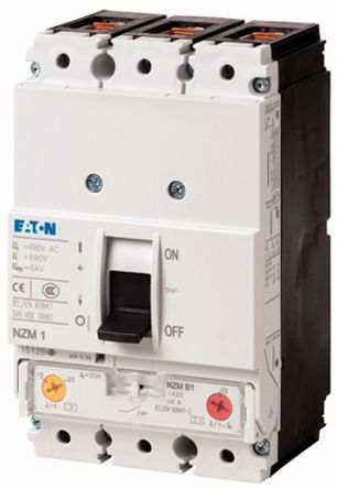 Eaton , xEnergy MCCB Molded Case Circuit Breaker 125 A, Breaking Capacity 25 kA, Fixed Mount