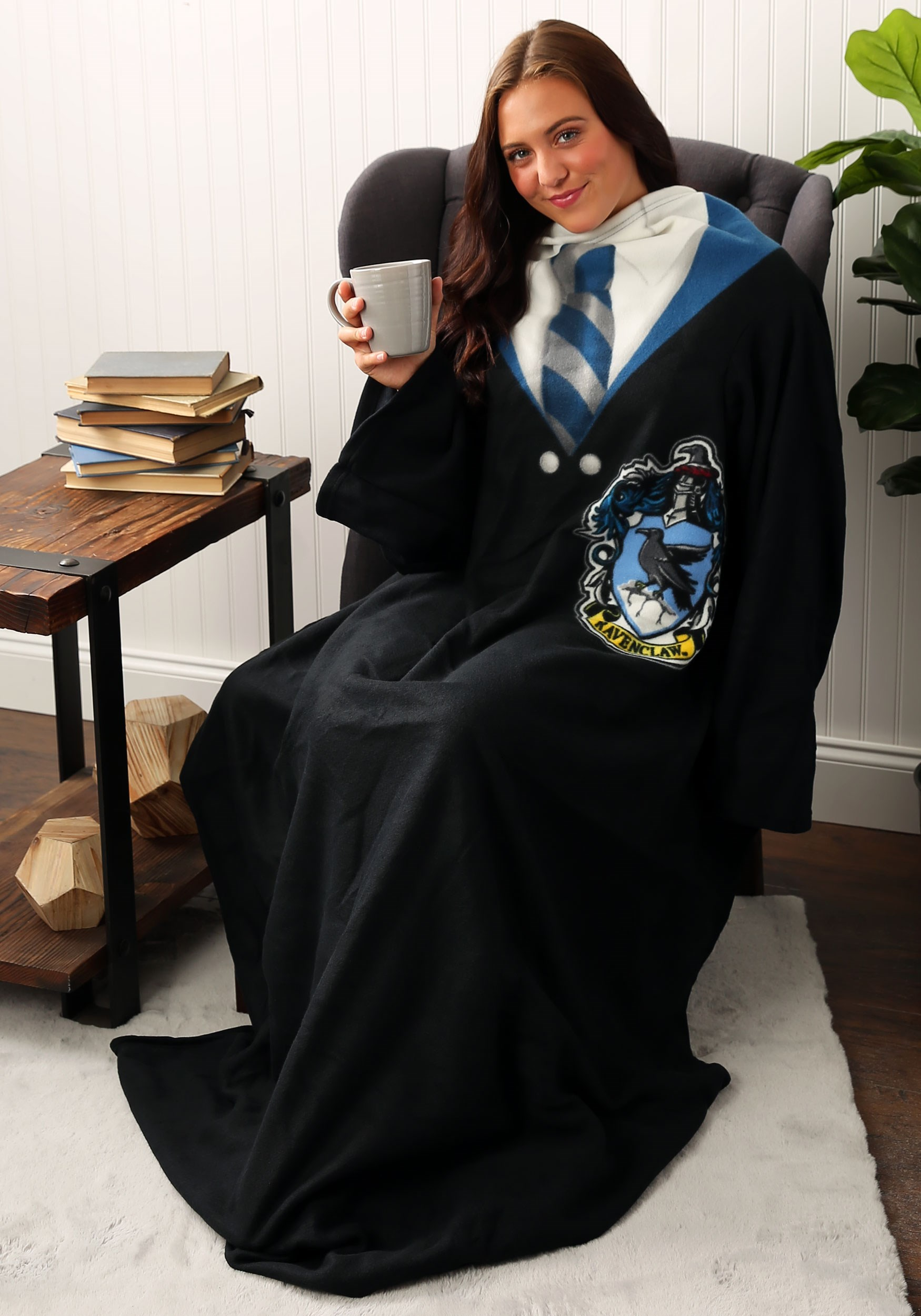 Harry Potter Ravenclaw Comfy Throw Blanket