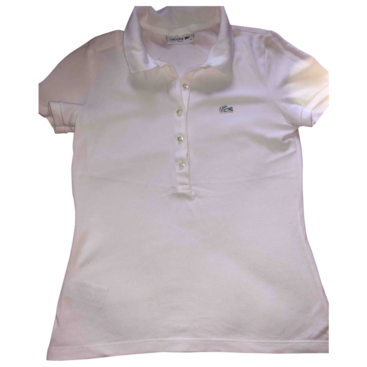 Lacoste \N White Cotton  top for Women 34 FR