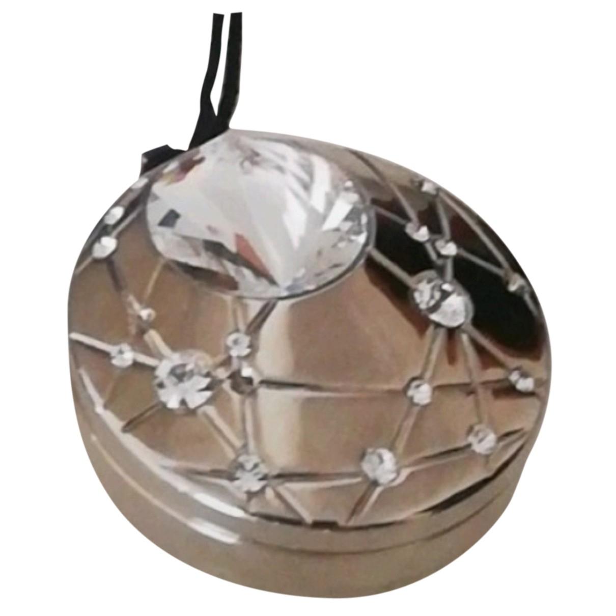 Swarovski \N Anhaenger in  Metallic Metall
