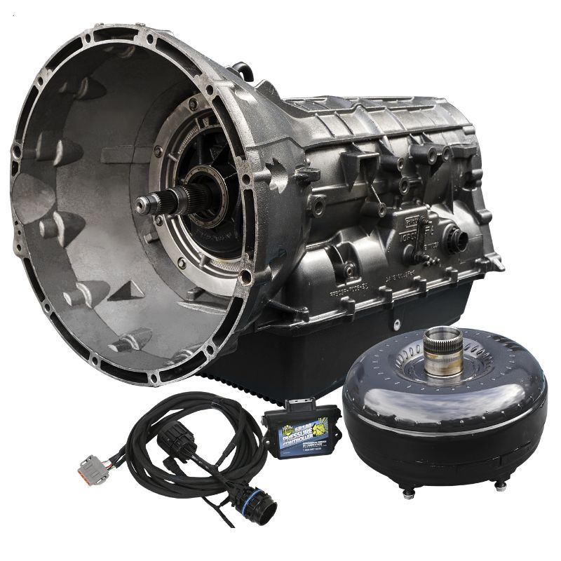 BD Diesel 1064504SS Ford 6R140 Transmission and Converter Stage 4 Package Stage 4 Ford Super Duty 6.7L 4WD 2011-2014